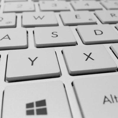 digital marketing training keyboard