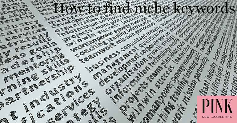 how to find niche keywords