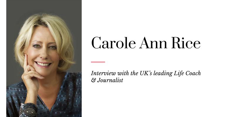 Carole Ann Rice Life Coach