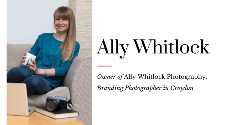 Ally Whitlock Branding Photographer Croydon
