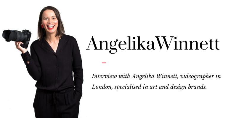 Angelika Winnett art videographer London