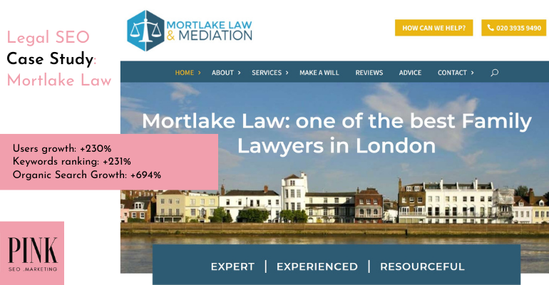 Legal SEO Case Study_ Mortlake Law